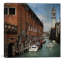 Venetian Days, Canvas Print