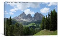 Dolomites, Canvas Print