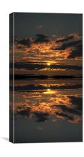 False Sunset, Canvas Print