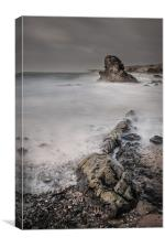 Porth Y Post, Canvas Print