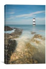 Lighthouse at Penmon, Canvas Print