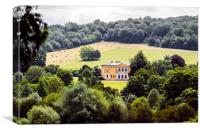 West Wycombe Park House, Canvas Print