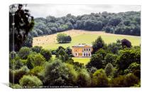 West Wycombe Park Palladian House, Canvas Print
