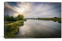 Dorney At Dusk, Canvas Print
