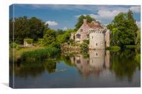 Medieval Castle, Canvas Print