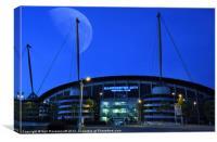 The City of Manchester Stadium, Canvas Print