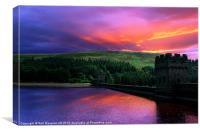 Dawn at Derwent, Canvas Print