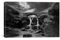 Pack Horse Bridge, Canvas Print