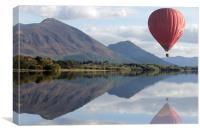 Lake District Ballooning, Canvas Print