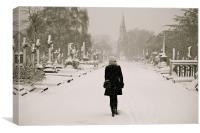 never stand alone, Canvas Print