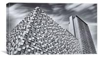 Sheffield Cheesegrater Car Park, Canvas Print