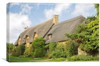 Cotswold Cottage, Canvas Print