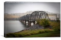 Bethanga Bridge, albury, New South Wales, Canvas Print