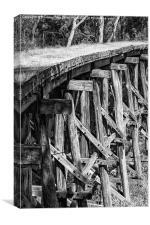 Trestle Bridge, Canvas Print