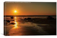 Sunset at Broome Western Australia, Canvas Print