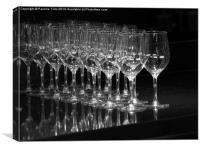 Wine Glasses, Canvas Print