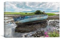 Old Boat , County Sligo, Ireland, Canvas Print