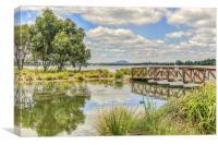 Lake Wendouree, Victoria, Australia, Canvas Print