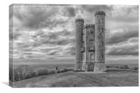 Broadway Tower, Worcestershire, UK, Canvas Print