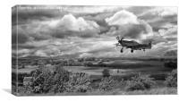 Stormy Landing, Canvas Print