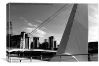 Geordie Bridge, Canvas Print
