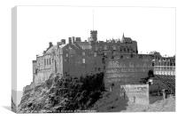 Edinburgh Castle, Canvas Print