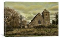 St Margarets Church, Lower Halstow, Canvas Print