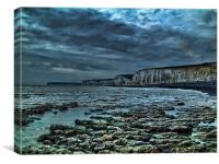 Stormy Seven Sisters, Canvas Print