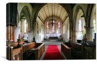 All Saints, Lydd, Canvas Print