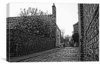 High Street Upnor, Canvas Print