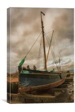 The Edith May, Canvas Print