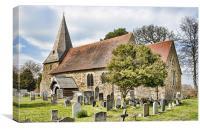 All Saints Church, Mountfield, Canvas Print