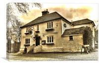Ringlestone Inn, Canvas Print