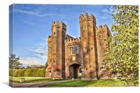 Lullingstone Castle Gatehouse, Canvas Print