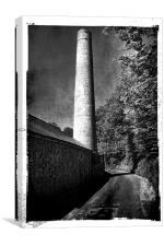 Hayle Mill Maidstone, Canvas Print