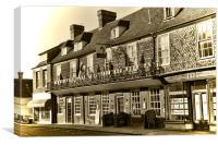 George Hotel Cranbrook, Canvas Print
