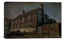 Hill House Cranbrook, Canvas Print