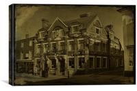White Horse Inn Cranbrook, Canvas Print