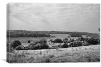 View Over Crundale, Canvas Print