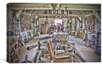 The Tool House, Canvas Print