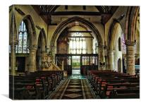 St Georges Wrotham, Canvas Print
