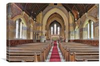 St Giles Shipbourne, Canvas Print
