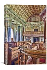 St Lawrence Mereworth, Canvas Print