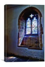 All Saints Tudeley - Chagall Window, Canvas Print