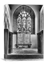 St Michael's church East Peckham, Canvas Print
