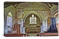 St Thomas Becket Capel, Canvas Print