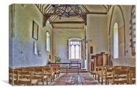 St Mary's Kennardington, Canvas Print