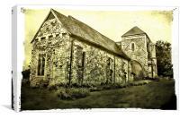 St Mary Kennardington, Canvas Print