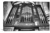 Organ Pipes at Warehorne, Canvas Print
