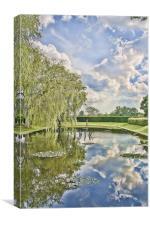 Lily Pond Godinton, Canvas Print
